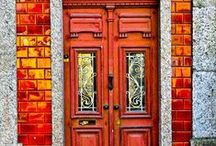 Exquisite Doors and Windows / Exits and entryways that spark fascination.