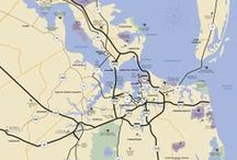 Surrounding Attractions / Newport News is conveniently located in between  Williamsburg and Virginia Beach   / by Newport News, VA