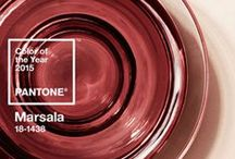 2015 Pantone Color of the Year - Marsala / Home designs and furniture featuring Marsala, Pantone's 2015 Color of the Year.  / by Star Furniture