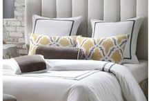 Bedding and Linens / Plush, decorative and cozy, these bedding ensembles, sheet sets, duvet covers and comforters will make it practically impossible to get out of bed. Pillows, linens, fabrics and sheets are made of the highest quality and design – all from Star Furniture in Texas.