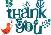 Thank You to my Celebrant / Testimonials
