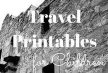 Children's Travel Printables / How to get your kids excited about an upcoming road trip? Try Children's Travel Printables. Cruise , Camping, Beach and various States will be included.
