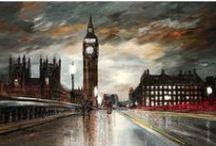 Paul Kenton art / Original paintings and signed limited edition prints by Paul Kenton