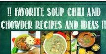 !! Favorite Soup, Chili and Chowder Recipes !! / OH BOY SOUP!!!  But Not just any Soup, this is a board for Pinterest lovers, Soup lovers and especially for any food bloggers (or lovers of food bloggers) who want to share their favorite recipes for Soups, Chili and chowders.  But I also want to encourage any Pinterest users to check out this pin for details.  And I will happily add you to the list of folks that can add posts to the board.  Email me at Dave@52WaystoCook.com for an invite (And follow me too)