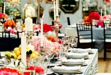 Chic Grey & Red Wedding