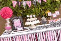 Zebra Print Party  / Zebra print cupcakes, wrappers and party supplies for your next wild soiree!  / by Bella Cupcake Couture