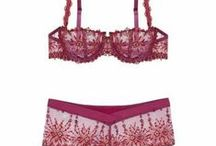 Its all in the detail - Lingerie at its best / Lingerie design and detail at its best. Detailed embroidery on bras and lingerie can make something necessary just that little bit special.