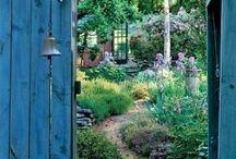 Through the secret garden gate