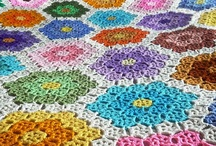 crochet afghans / by Eunice Luscombe