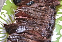 Beef / Everything from hamburgers to steak.  It's whats for dinner tonight. / by Eunice Luscombe