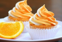 Orange Cupcake Wrappers & Party Décor | Bella Cupcake Couture / by Bella Cupcake Couture