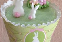 Easter Cupcake Wrappers & Party Decor - Bella Cupcake Couture / Cupcake Wrappers & fun cupcake ideas.