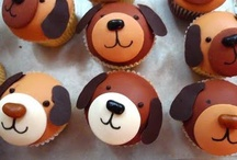 Puppies & Parties / Fun ideas for a Puppy Party! Snacks, Dog treat recipes AND of course for the 2 legged guests, Cupcakes of course with some sweet Cupcake Wrappers you are highlight them in! 
