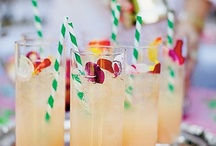 Sip. Sip. Soiree! / Sweet striped straws add perfect retro charm to baby showers, wedding receptions, candy buffets, birthday parties, and any special event!