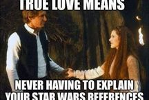 geeked out / Oh, my heart be still. Star Wars. Books. Movies. Geeky love.  / by Katy Miller