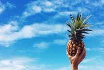 summer. / the warm sun, beaches, tropical places & pineapples. this is summer. / by Life Out of the Box