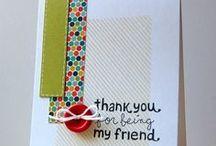 Cards I love... / by Amanda Gunderson