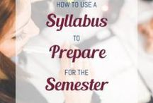 College Classes / Study tips and organization ideas to have your best college semester yet!