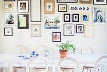 Home Decor: Photo Walls
