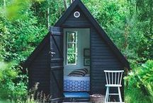 A Place to Write / A writer doesn't need office space or a home office, they need Writing Space that's a little magical. Be inspired to make your writing space special!