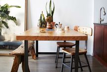 D i N E / Dining rooms // kitchen tables // sit down to eat