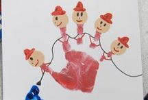 Kids Handprint Art / A constantly growing collection of hand and footprint artwork ideas for kids of all ages