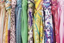 Scarves / A collection of scarves and the many ways to wear them! / by Christine Turner