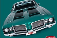 442 : OLDSMOBILE / Oldsmobile 442. Sweet. Hot!   / by Sharon Cumberland
