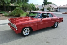 """CHEVY II  / The Chevrolet """"compact"""" car - 1960's versions.  An ideal size. So much style in such a small package. I like the squared versions before they went to a fast back in 1968.  / by Sharon Cumberland"""