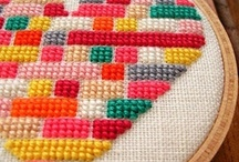 Cross stitch & embroidery / by Kim Connelly
