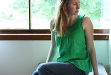 Sewing just for me / Sewing patterns and inspiration for projects I'd like to sew for myself. Mostly simple, clean lines and easy to sew projects that can be made in an evening. / by Kim Connelly