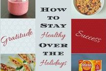 Holiday Nutrition & Lifestyle Tips / Healthy recipes, nutrition & lifestyle tips to stay healthy over the holiday season!