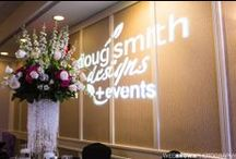 Doug Smith Designs & Events / Doug Smith Designs & Events specializes in wedding flowers and décor in Central Kentucky. Each occasion is treated with individual care and attention — from the 800-person formal affair to the most intimate wedding. We pride ourselves on providing unique floral arrangements at a fair price while providing the highest quality of service.