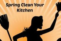 Useful Tips for Getting Your Life in Order / Kitchen essentials, meal planning tips, spring cleaning, and more.