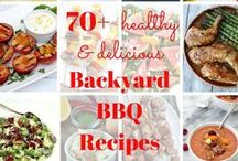 Summertime Barbecue / Nutritious and delicious food and drinks for your summer barbecues and backyard parties. You may even find some tips for making your summer bbq healthier and easier than ever!