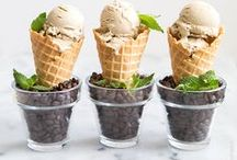 Ice Cream | Frozen Treats / ice cream, popsicles, frozen yogurt, sorbet, gelato...anything sweet and cold!