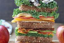 Lunchtime Favourites / Sandwiches, wraps, bento boxes, and other great lunch ideas!