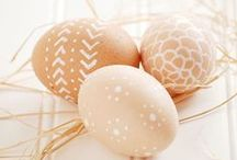 { Easter } / All things about Easter: decor, inspiration, crafts, food...