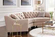 Living Room / It's about comfort. And stylish living. Make your living room the center of the home: the go-to place for entertaining and relaxing.  / by Home Decorators Collection