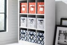 Storage & Organization / We resolve to keep the home organized with storage solutions that declutter without sacrificing style.  / by Home Decorators Collection
