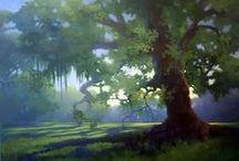 Art - Trees / by Naomi Ball