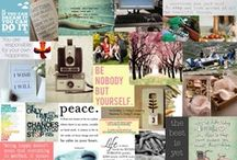 { Mood Boards to Inspire } / In here I keep Mood Boards I've made and others I've found to inspire my life and my work