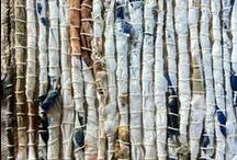 # Fiber Love # (weaving) / by Magda de Melo