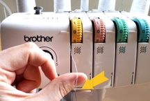 """Sewing - Sergers & Overlockers: Tutorials & Tips / Collection of some of my favourite tips, tutorials and how to's for using an OVERLOCKER / SERGER sewing machine! See my other """"Board"""" for other """"Sewing - Tutorials and How To's"""" here: http://pinterest.com/clairesews/sewing-tutorials-and-how-to-s/ ,  and  also another """"Board"""" for: """"Pattern Making / Cutting & Alterations"""" here: http://pinterest.com/clairesews/pattern-making-cutting-alterations/"""