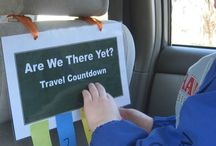Road Trip / Kids activities and ideas to make travel more fun