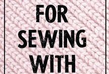 """Sewing - Knit & Jersey Fabrics: Tutorials & How To's / Collection of some of my favourite sewing tips, tutorials and how to's - for knit & jersey fabrics! See my other """"Board"""" for: """"Pattern Making / Cutting & Alterations"""" here: http://pinterest.com/clairesews/pattern-making-cutting-alterations/ and """"Sewing - Tutorials and How To's"""" here: https://www.pinterest.com/clairesews/sewing-tutorials-and-how-to-s/ too."""