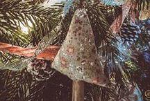 My handmade cottage Christmas / A nostalgic, rustic, old fashioned Christmas x