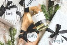 Christmas / Holiday inspiration, gift ideas, Christmas decorations, holiday recipes, and gift wrapping tips – our favorite inspiration for the holiday we love to celebrate!