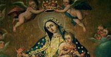 Nossa Senhora / Ó, Maria concebida sem pecado, rogai por nós que recorremos a vós.