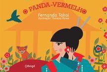 """A Gueixa e o Panda-Vermelho / Inspirações e bastidores do livro """"A Gueixa e o Panda-Vermelho"""", de Fernanda Takai, com ilustrações de Thereza Rowe."""